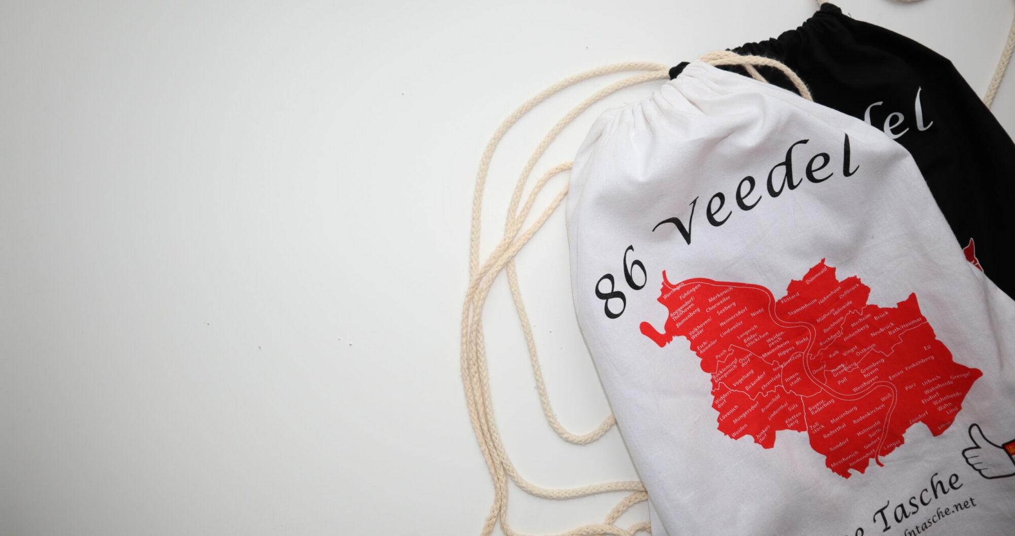 86 Veedel, eine Tasche!